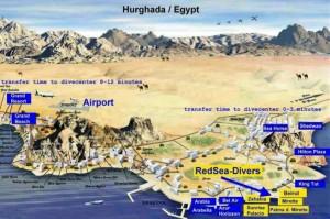 Карты Хургады