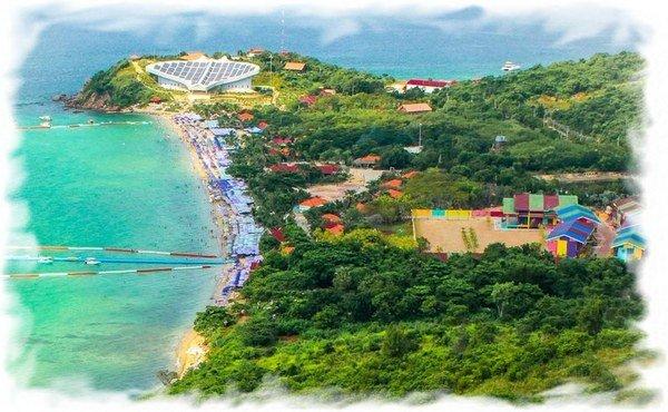 Пляж Самэ на острове Ко Лан