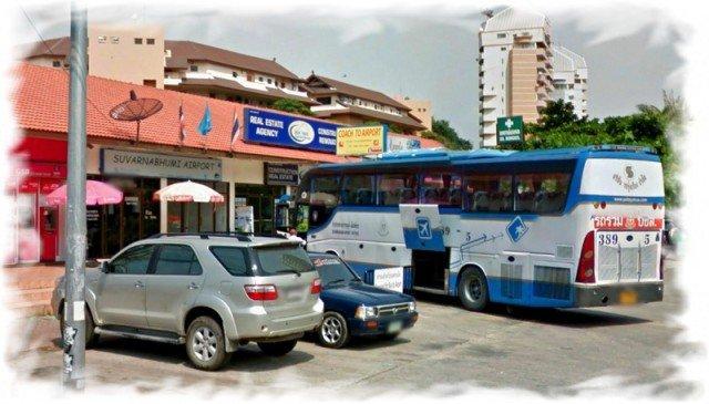 Автовокзал Паттайи Тапрайя