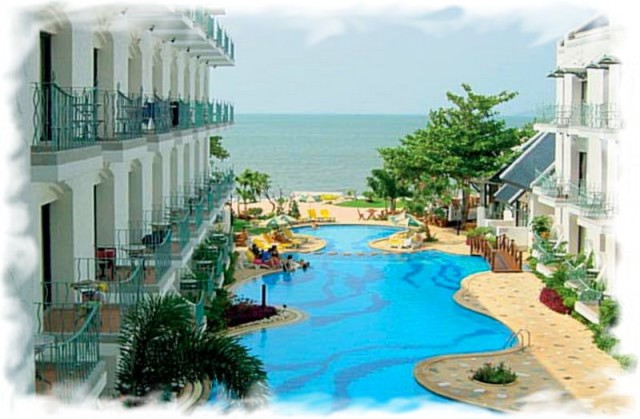 Паттайя Наклуа фото отель на пляже