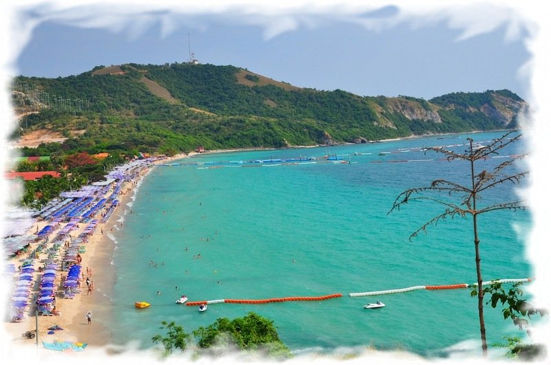 наблюдать остров ко лан паттайя пляжи себе удовольствие