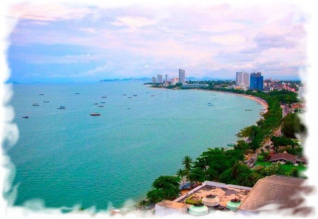 Пляжи Паттайи Фото