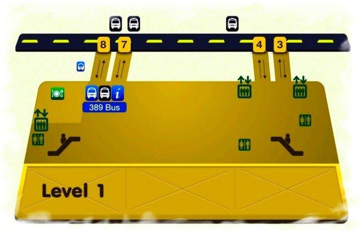Посадка на автобусы Суварнабхуми-Паттайя