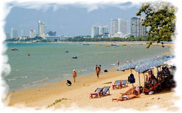Центральный пляж Паттайи Pattaya Beach 2
