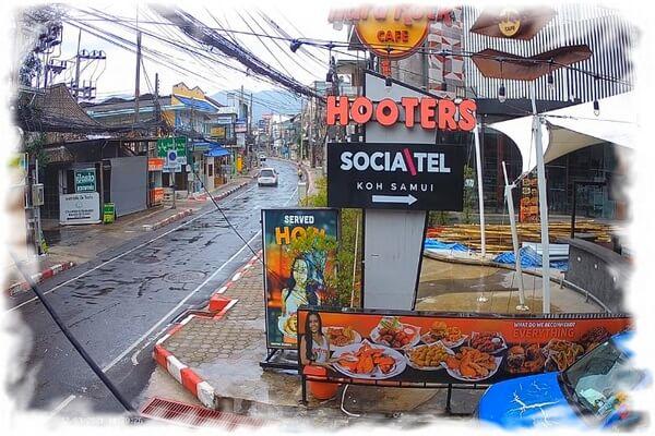 Веб-камера Ко Самуи - отель Hard Rock и Hooters