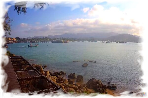 Веб-камера Самуи онлайн - вид на пляж Банграк