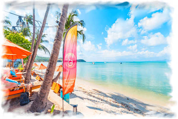 Вид на пляж Биг Будды - веб-камера Самуи