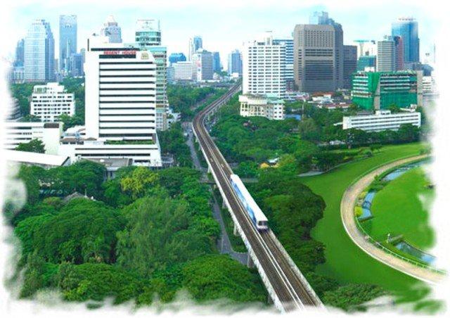 BTS метро Бангкока