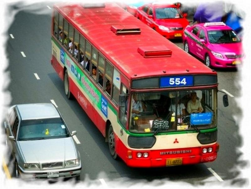 Как добраться из аэропорта в Бангкок на автобусе