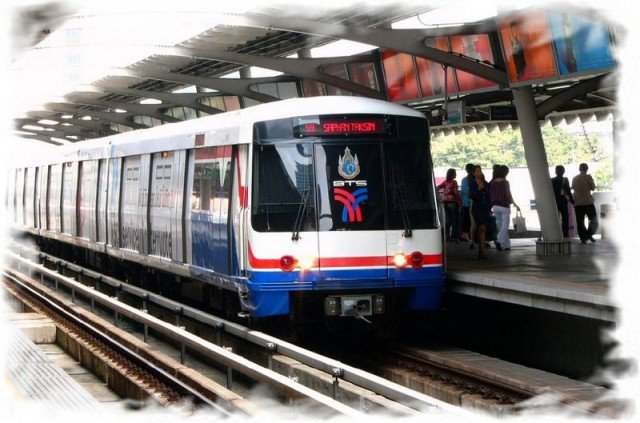 Надземное метро Бангкока