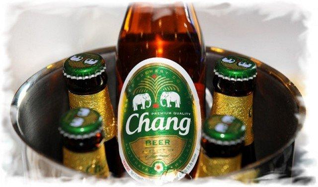 Пива Тайланда Chang Чанг