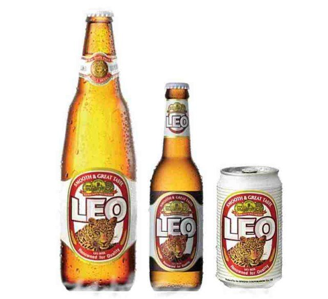 Leo beer - my favorite Thai beer in last times