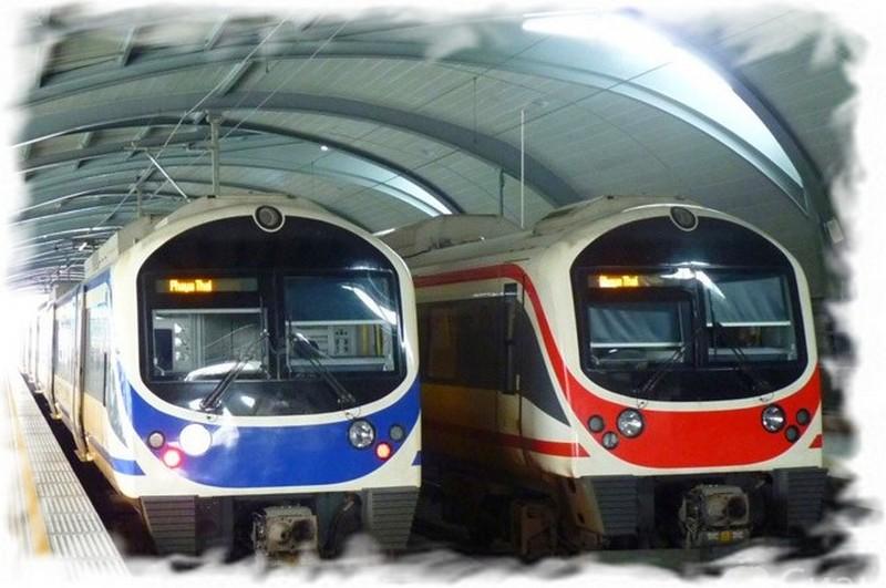 Поезда из аэропорта Суварнабхуми в Бангкок