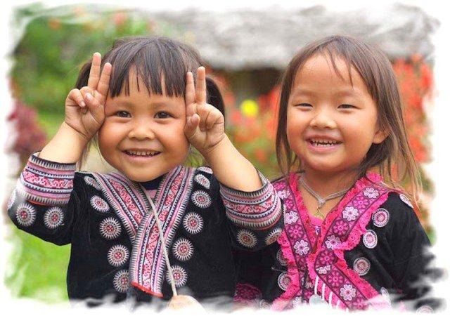 Правила поведения в Тайланде тайские дети