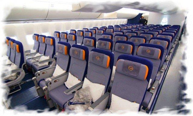 Как выбирать места в салоне самолета 3
