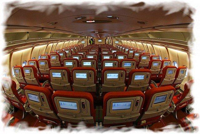 Как выбирать места в салоне самолета 4