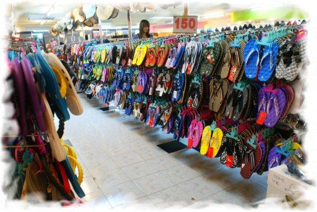 Какую обувь взять в Тайланд