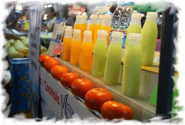 Напитки в Таиланде 1