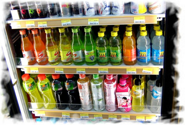 Напитки в Таиланде цены безалкогольные