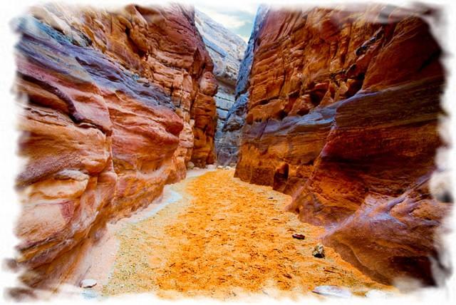 Развлечения в Египте - Цветной каньон