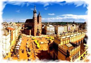 Виртуальный тур по Кракову площадь
