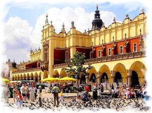 Онлайн веб-камеры Кракова