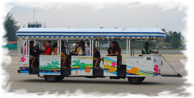 Аэропорт Самуи автобус
