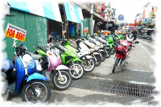 Аренда мотобайков в Таиланде 2