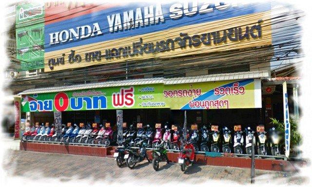 Аренда мотобайков в Таиланде 4