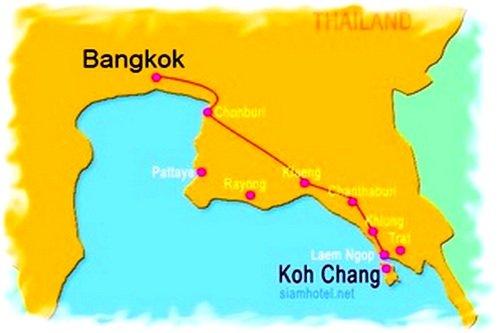 Бангкок ко чанг как добраться