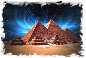 Панорама пирамид в Египте