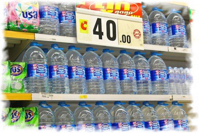 Питьевая вода в Таиланде 1