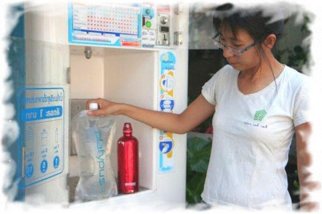 Питьевая вода в Таиланде 2