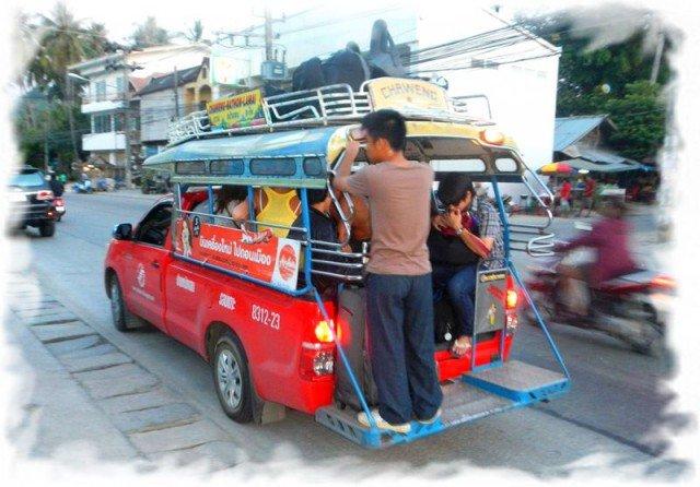 Транспорт на Самуи 2