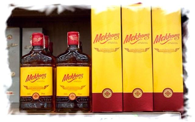 Алкоголь в Таиланде. Виски Меконг