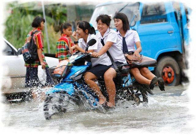 Езда на мотобайке в Таиланде 1