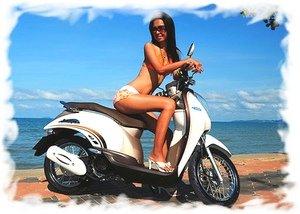 Езда на мотобайке в Таиланде 3