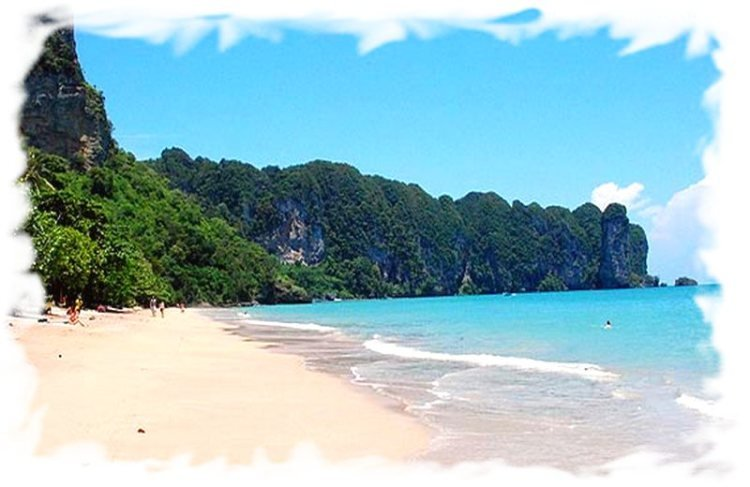 Основные курорты провинции Краби - Ао Нанг
