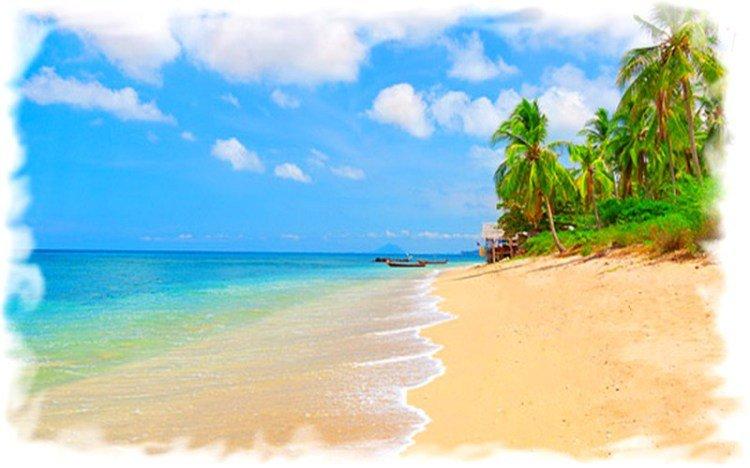 Основные курорты провинции Краби - остров Ланта