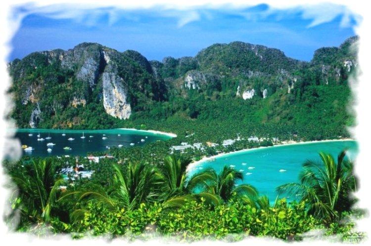 Основные курорты провинции Краби - остров Пхи Пхи