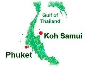 Перелет бангкок самуи