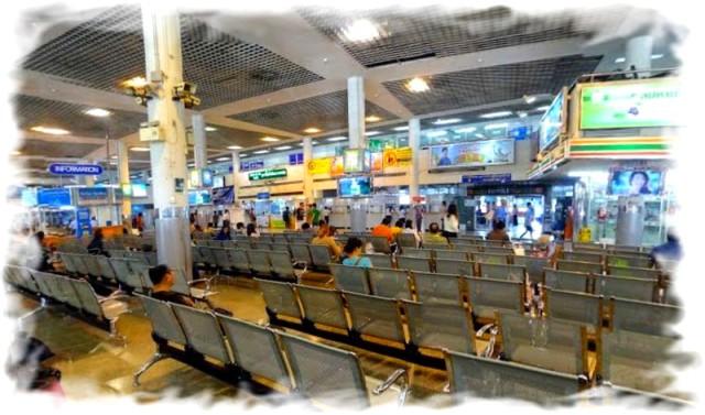Северный автовокзал  Бангкока  Чатучак бас терминал внутри