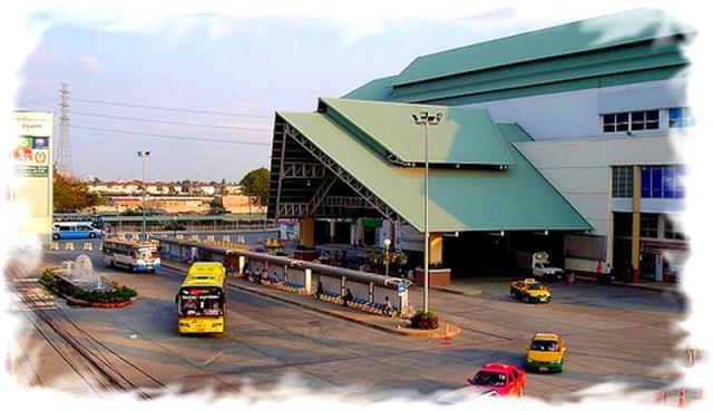 Южный автовокзал Бангкока  здание 2