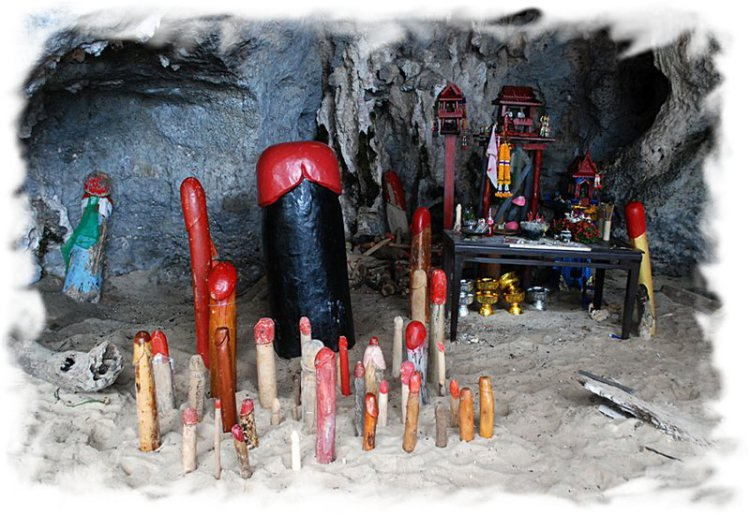 Чем заняться на Рейли - пещера Прананг