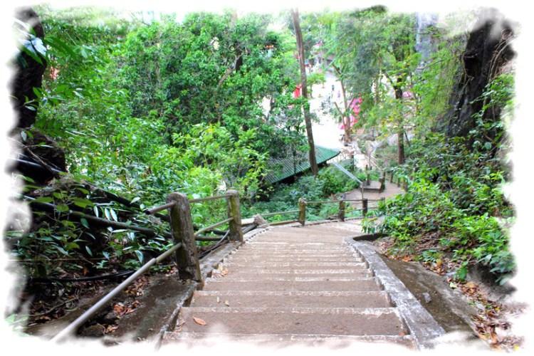 Храм Тигра Краби - вид на ступени