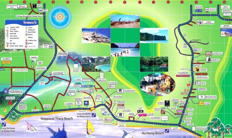 Map Ao Nang-Update