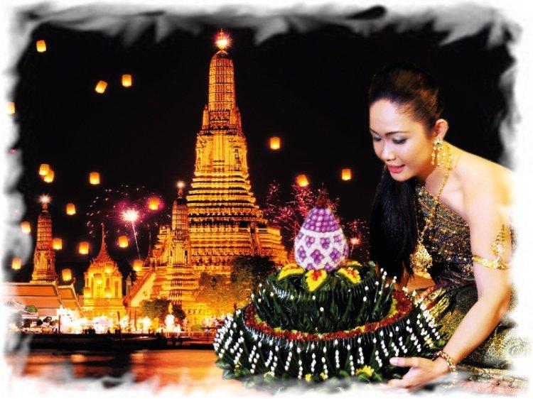 Лой Кратонг в Таиланде 1