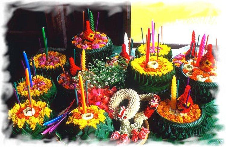 Лой Кратонг в Таиланде 2