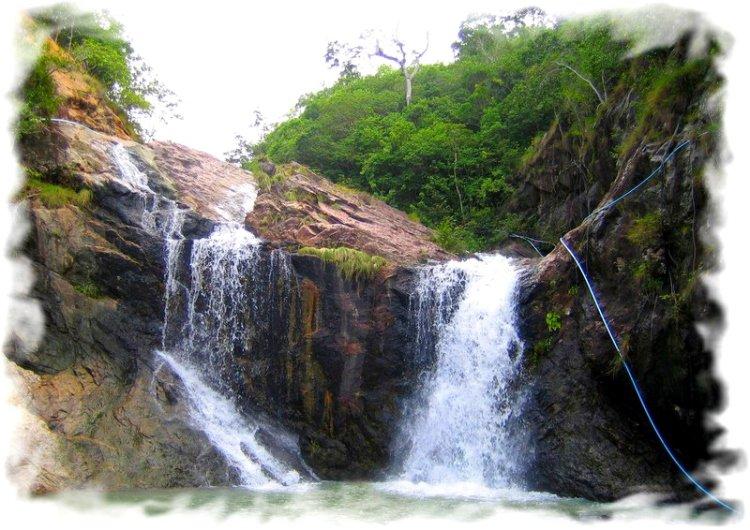 Остров ПАнган водопад