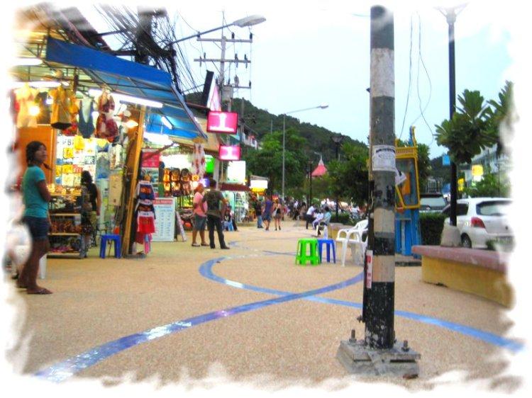 Пляж Ао Нанг улица баров